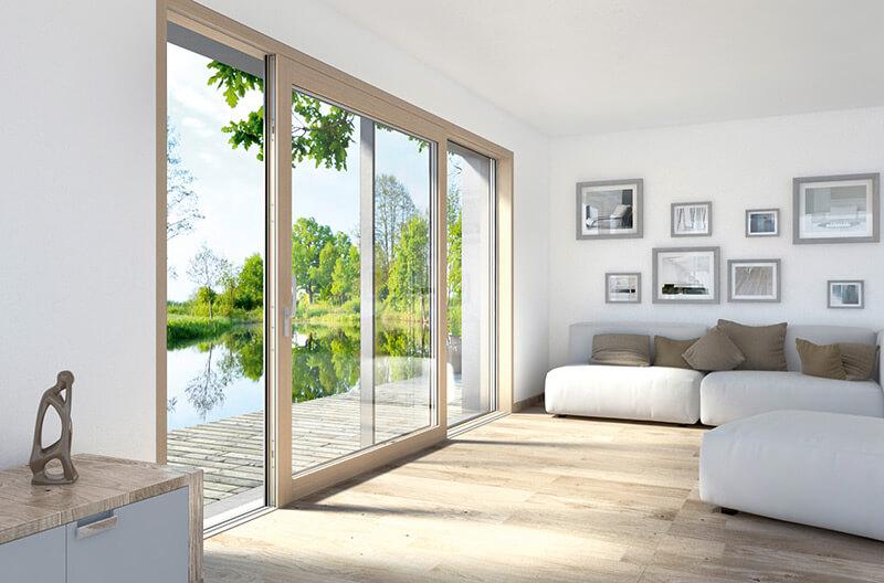 Zdjecie do artykułu: Okna przesuwne – sprawdź jak działa przesuwanie okien w salonie we Wrocławiu