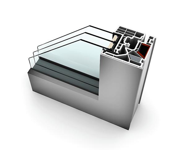okno kf 405 nak adka aluminiowa oknar wroc aw. Black Bedroom Furniture Sets. Home Design Ideas